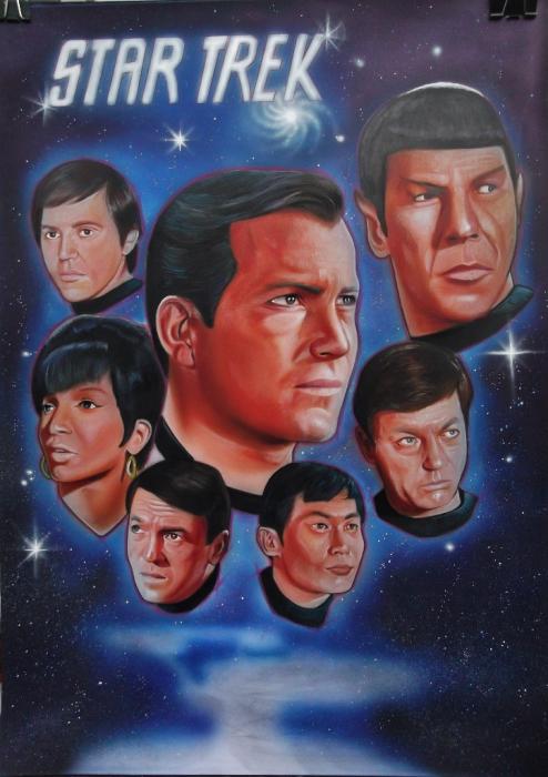 William Shatner, Leonard Nimoy por stephane014